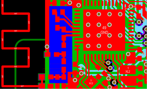 Bluetooth Low Energy RF Front End Circuit